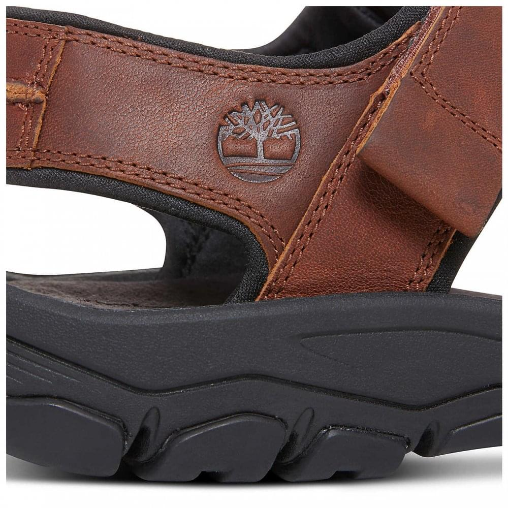 Men/'s Timberland Roslindale 2-Strap Sandal Brown A1OWH