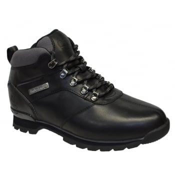 Timberland Splitrock 2 Leather Black (N34) A1HVQ Mens Boots
