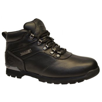 Timberland Splitrock 2 Textured Leather Black (SC-A4) A11XF Mens Boots