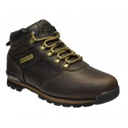 Timberland Splitrock 2 Textured Leather Dark Brown (N7a) A11W6 Mens Boots