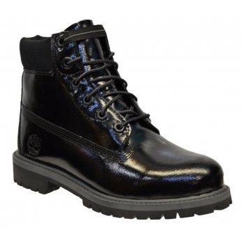 Timberland 6 Inch Premium Waterproof Black (SC1) 3794A Juniors Boots