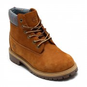 Timberland 6 Inch Youths 9574R / Toddlers 9584R Rust Brown (SC-B2)  Boots