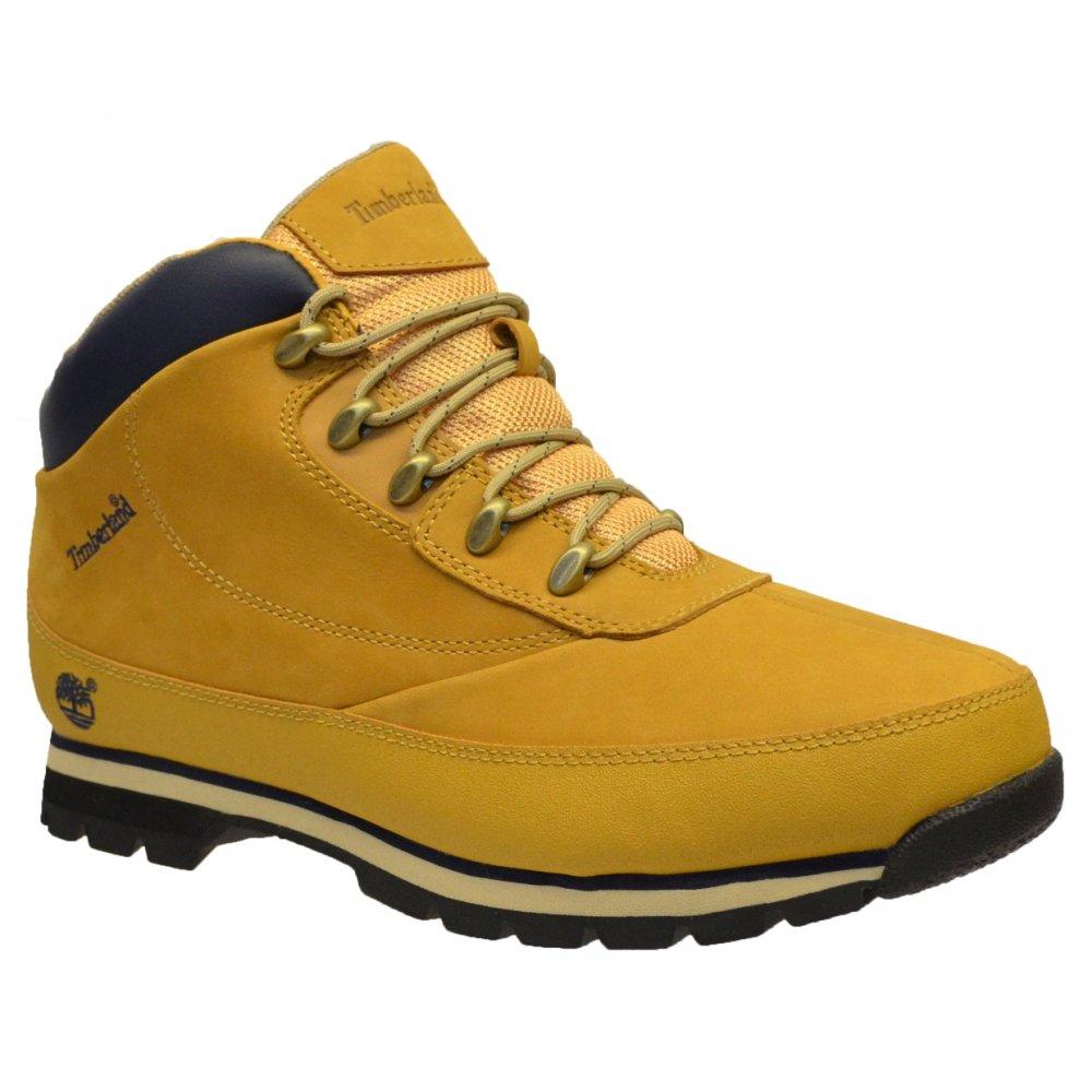 Timberland Euro Brook Nubuck Light Brown / Wheat (Z151) 6607B Mens Boots ...