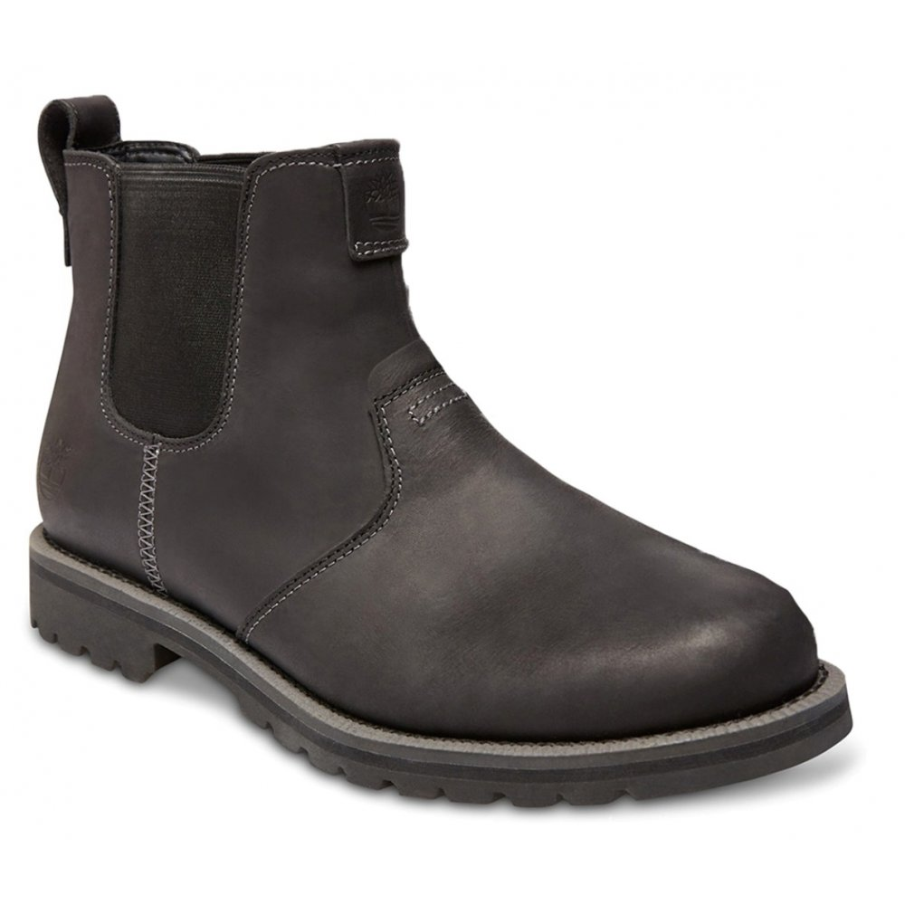 timberland timberland grantly chelsea leather black c5