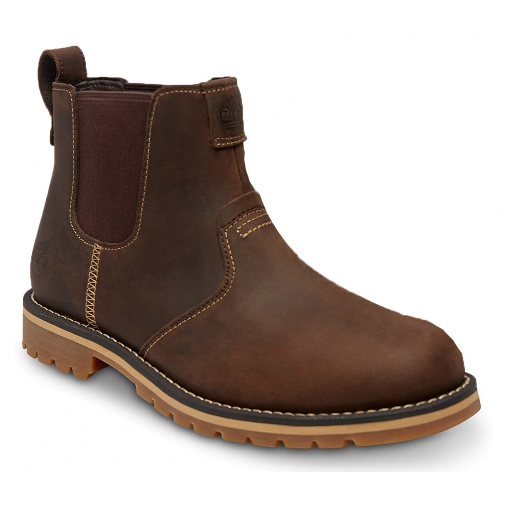 timberland timberland grantly chelsea leather brown k2