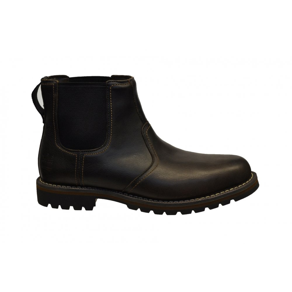 timberland timberland larchment chelsea leather dark brown gd2 9706a mens boots timberland. Black Bedroom Furniture Sets. Home Design Ideas