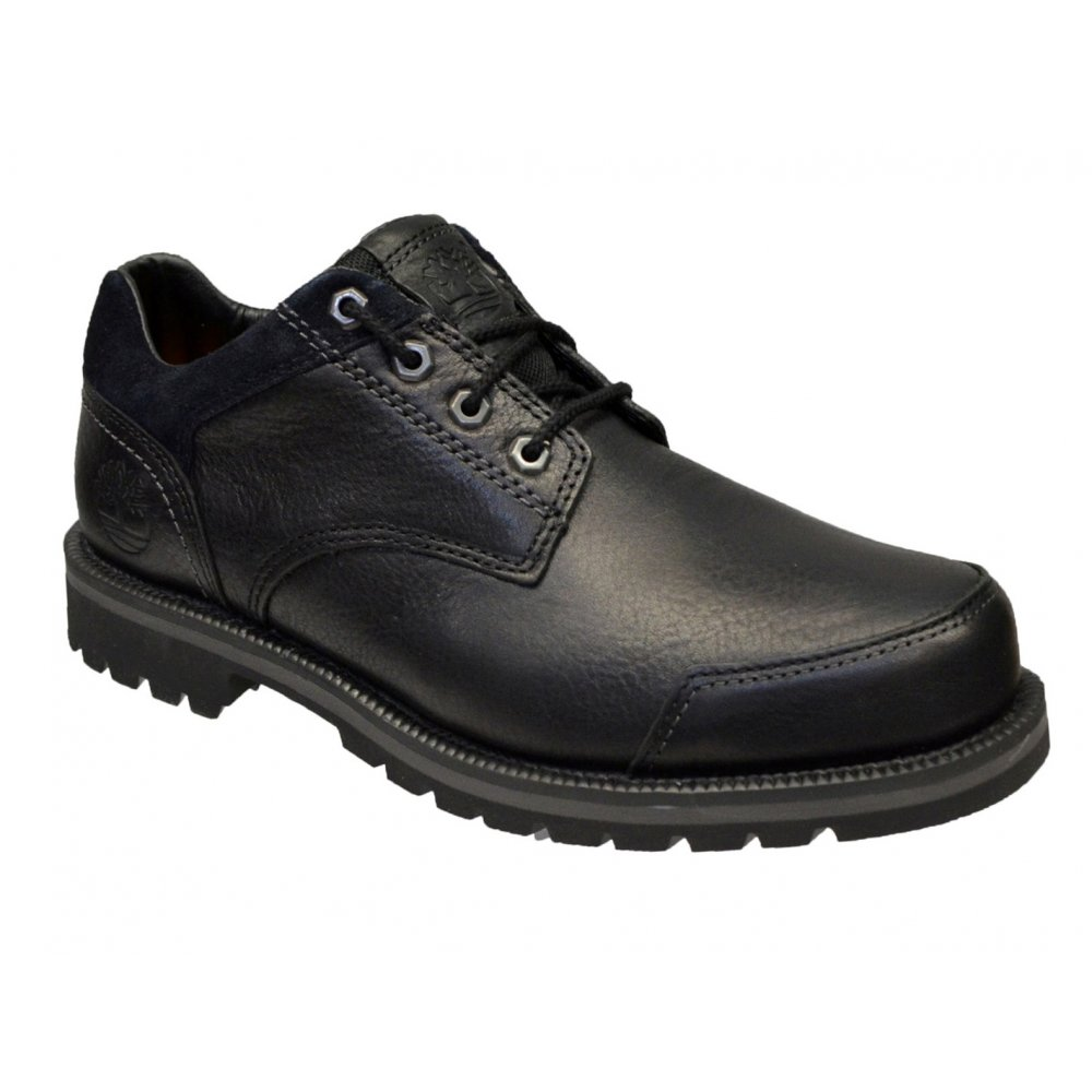 timberland timberland larchment ox textured leather black
