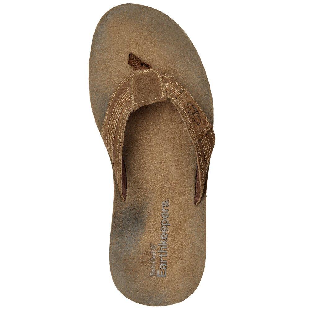 9539b48679ea ... Timberland Mens Brown 5616R (A11) EK Leather   Fabric Thong Sandal ...