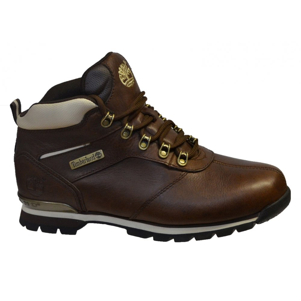 timberland timberland splitrock 2 hiker leather brown