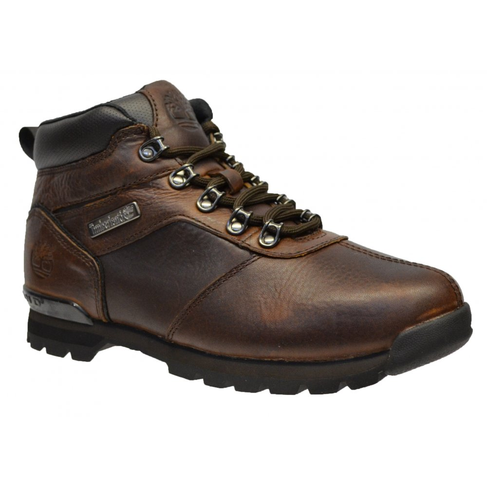 timberland timberland splitrock 2 textured leather brown