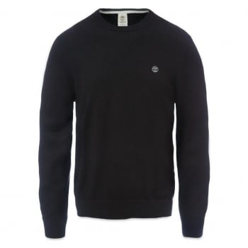 Timberland Williams River Crew Neck Black (E1) A1KRR-001 Mens Jumper