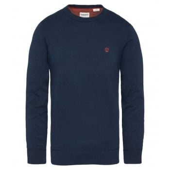 Timberland Williams River Crew Neck Dark Sapphire (E3) A1QTW-433 Mens Jumper