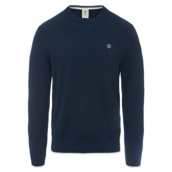 Timberland Williams River Crew Neck Navy (A14) A1KRR-433 Mens Jumper