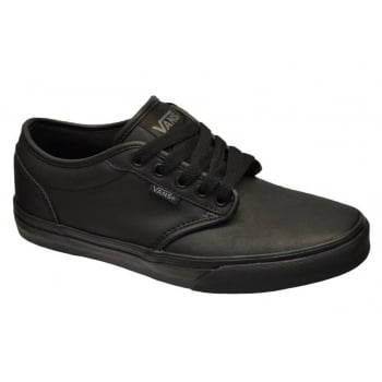 VANS Atwood Leather Triple  Black (N103) VN-0 A327LKNX Mens Trainers