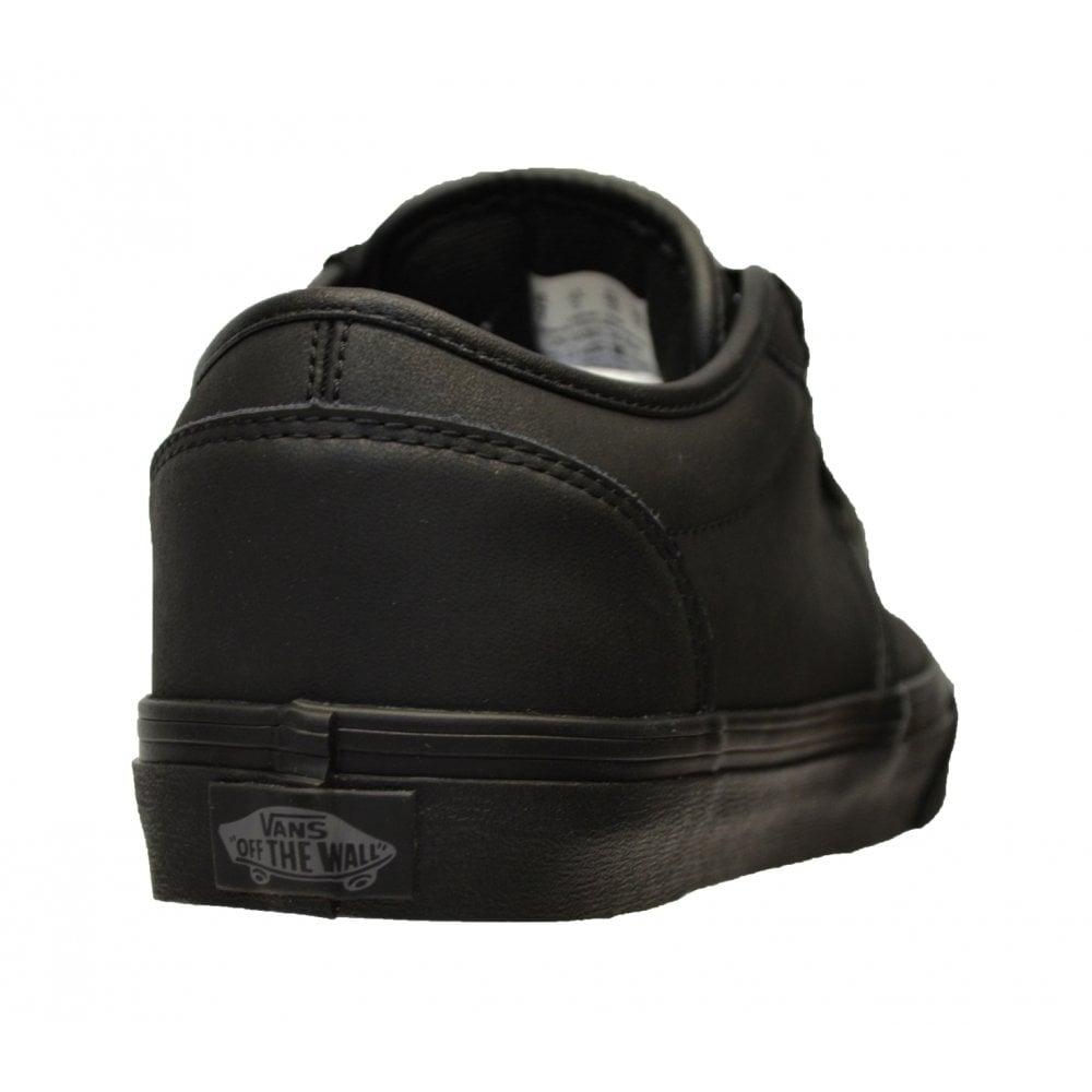 9b733463b2f1aa ... VANS Atwood Leather Triple Black (N103) VN-0 A327LKNX Mens Trainers. ‹