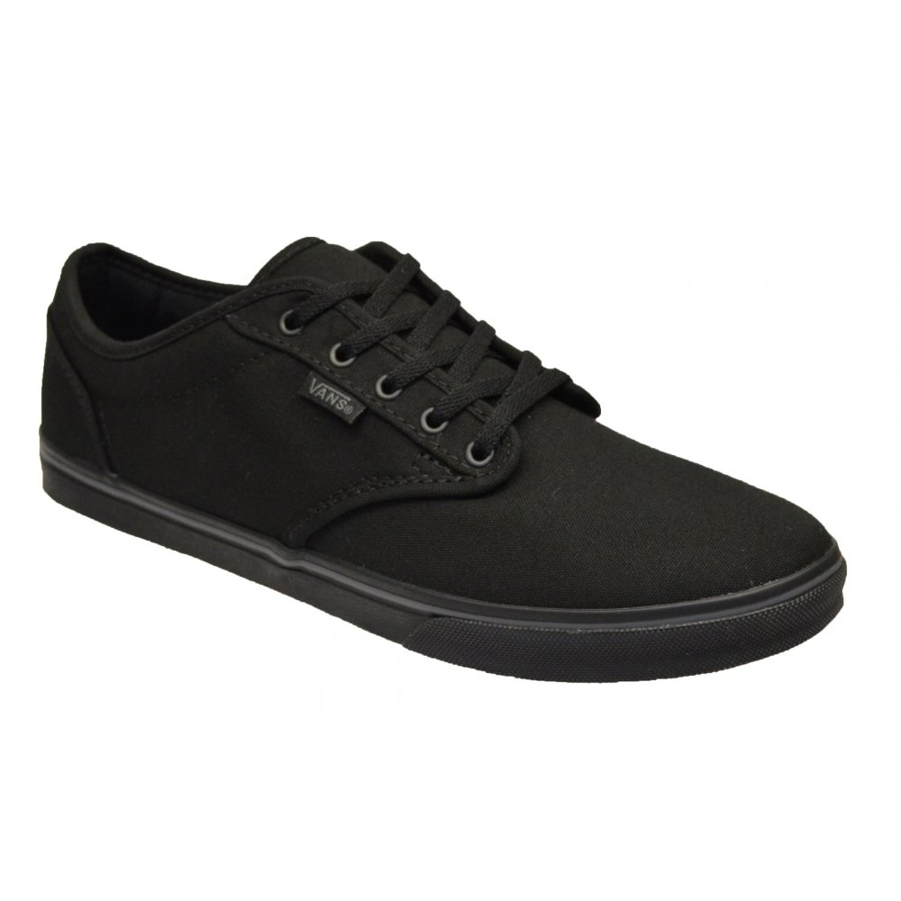 c164df1f8778 VANS Vans Atwood Low Black (N6) VN-0NJO186 Womens Trainers - VANS ...