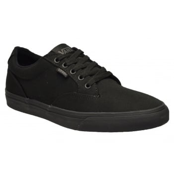 VANS Winston Canvas Black / Black (G3) VN-0 VOB186 Mens  Trainers